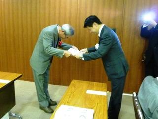 静岡市技能功労者表彰式